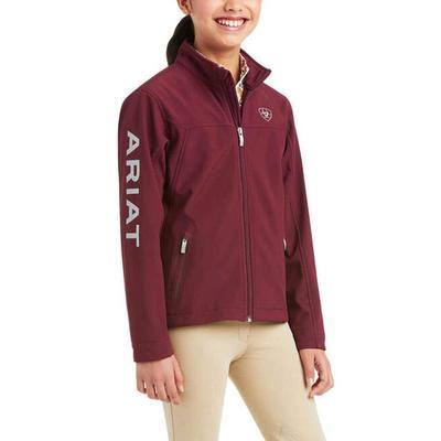 Ariat Girl's New Team Softshell Jacket