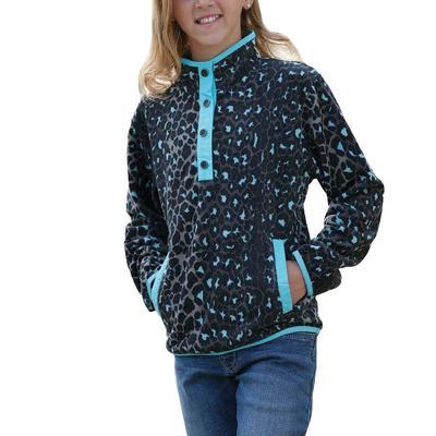 Cinch Girl's Black Polar Fleece Jacket