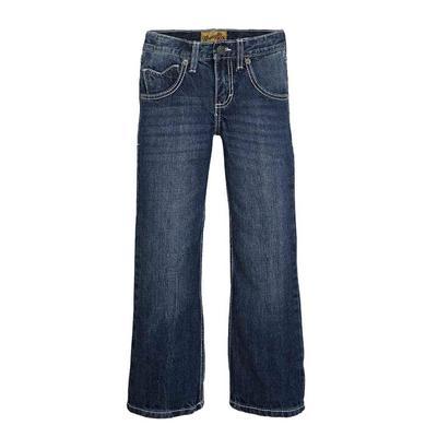 Wrangler Boy's Dark Wash Vintage Bootcut Jeans