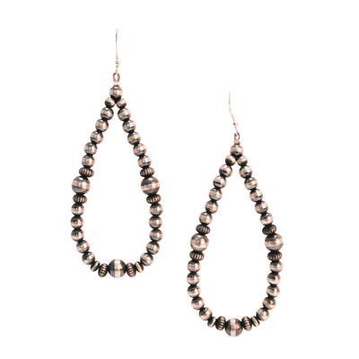 Women's Sterling Silver Dangle Teardrop Earrings