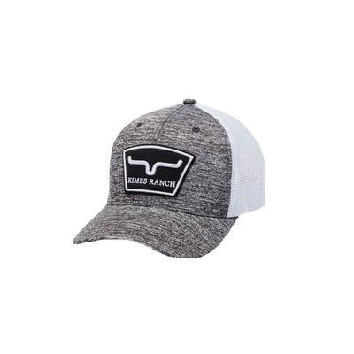 Kimes Ranch Men's Grey Hardball Trucker Cap