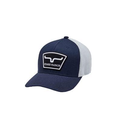 Kimes Ranch Men's Navy Hardball Trucker Cap