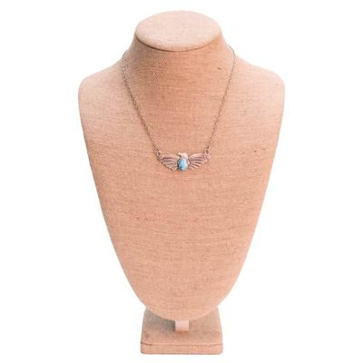 Women's Sterling Silver Thunderbird Necklace