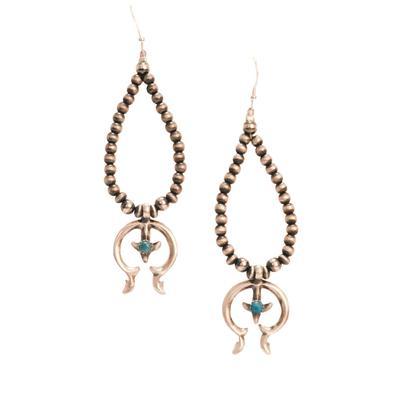 Women's Sterling Silver Naja Teardrop Earrings