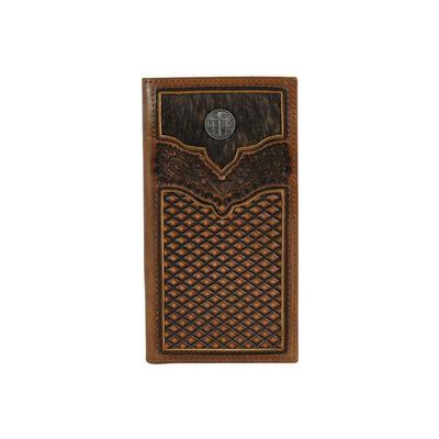 Justin Men's Brindle Inlay Rodeo Wallet