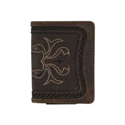 Justin's Boot Stitch Card Bifold Wallet
