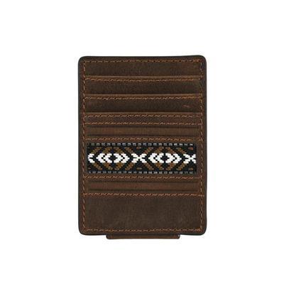 Justin's Aztec Trim Card Holder Wallet