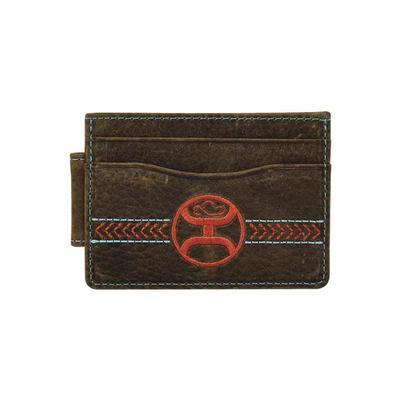 Hooey Weathered Card Holder Wallet