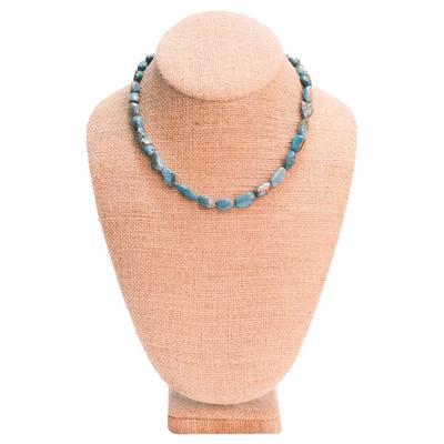 Women's Large Turquoise Stone Necklace