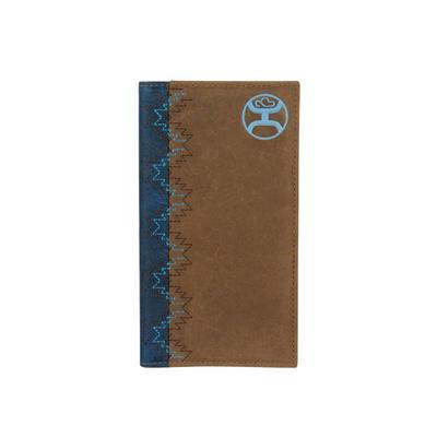 Hooey Brown and Turquoise Rodeo Wallet