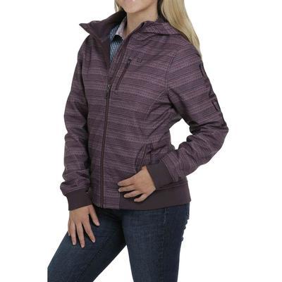 Cinch Women's Purple Bonded Hoodie Jacket
