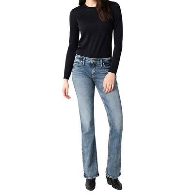 Silver Women's Elyse Slim Bootcut Jeans