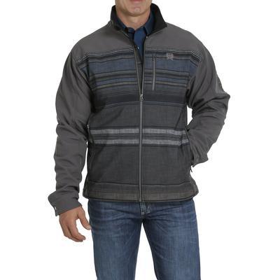 Cinch Men's Blanket Stripe Bonded Jacket