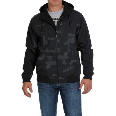 Cinch Men's Camo Bonded Full Zipper Jacket