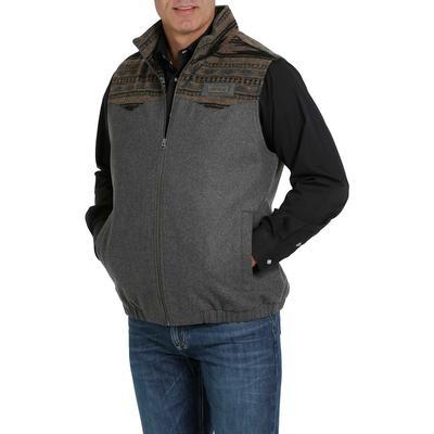 Cinch Men's Conceal Carry Wool Aztec Vest
