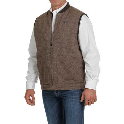 Cinch Men's Reversible Canvas Wool Vest