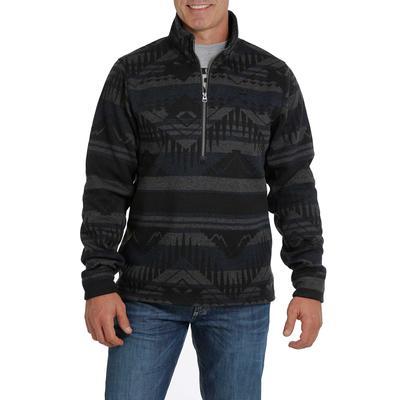 Cinch Men's Half Zip Aztec Pullover