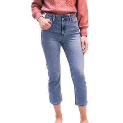Dear John Women's Frankie High Rise Straight Leg Jeans