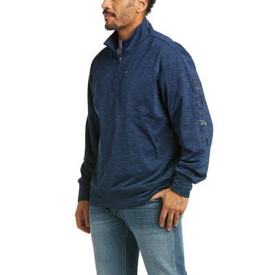 Ariat Men's Team Logo Quarter Zip Sweatshirt