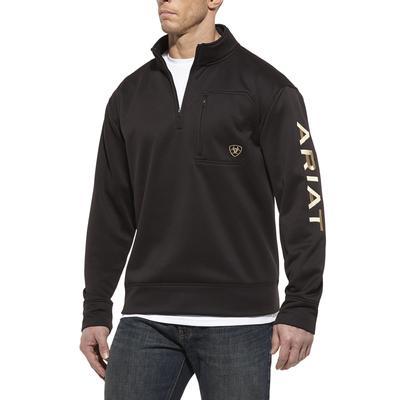 Ariat Men's Team Logo Quarter Zip Pullover