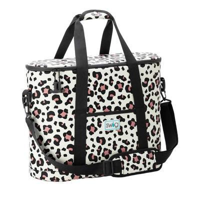 Swig Luxy Leopard Print Cooli Family Cooler