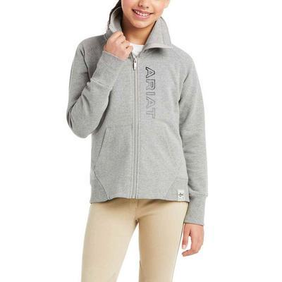 Ariat Girl's Team Logo Full Zip Sweatshirt