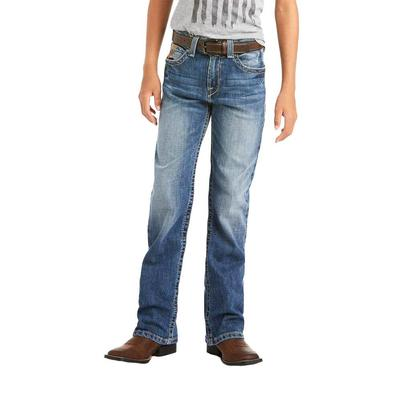 Ariat Boy's B4 Relaxed Stretch Bootcut Jeans