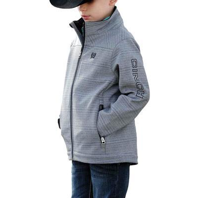 Cinch Boy's Grey Bonded Jacket
