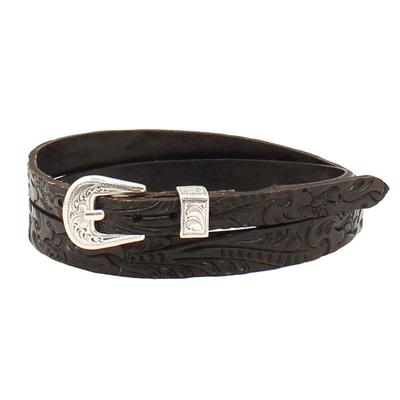 M&F Western Youth 3/8-1/2 Floral Tooled Hatband