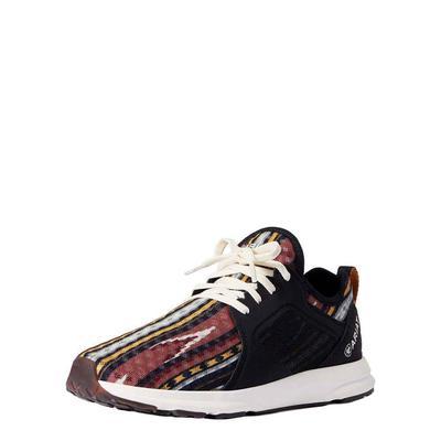 Ariat Women's Fuse Burgundy Serape Sneakers