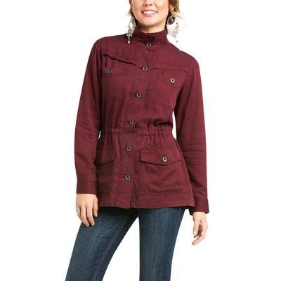 Ariat Women's Wine Working Girl Jacket