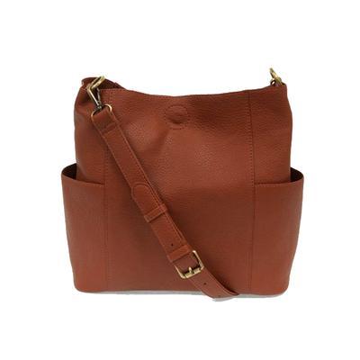 Kayleigh Spice Side Pocket Bucket Bag