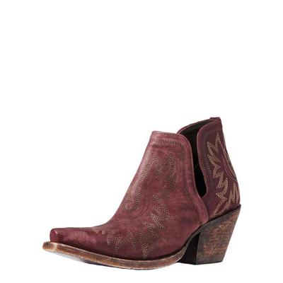 Ariat Women's Red Dixon Ankle Boots