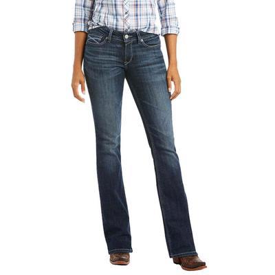 Ariat Women's R.E.A.L.Beverly Arrow Fit Bootcut Jeans