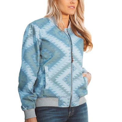 STS Ranchwear Women's Terryn Aztec Bomber Jacket