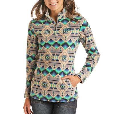 Panhandle Women's Aztec Fleece Pullover