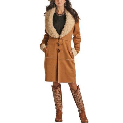 Panhandle Women's Micro Suede Coat