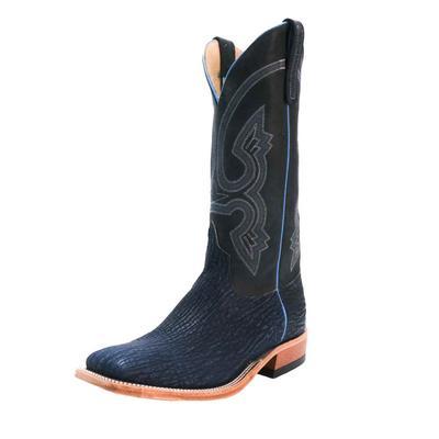 Anderson Bean Men's Blue Safari Shark Western Boots