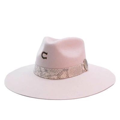 Charlie 1 Horse Women's Side Winner Cream Felt Hat