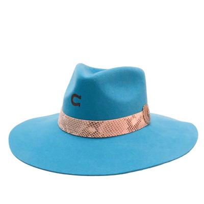 Charlie 1 Horse Women's Side Winner Turquoise Felt Hat