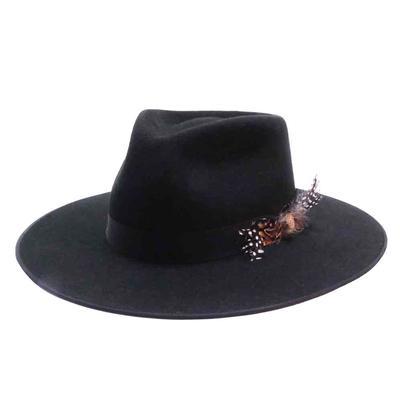 Stetson Women's Midtown Black Felt Hat
