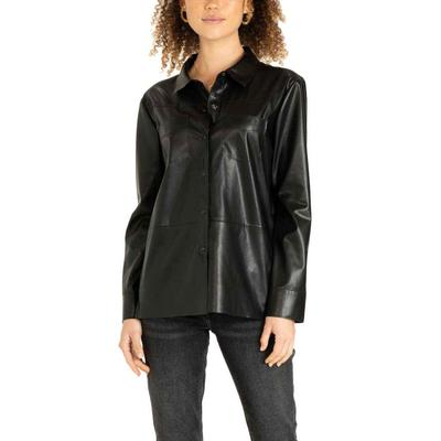 Another Love Women's Nola Leather Top