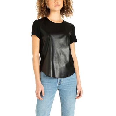 Another Love Women's Elaina Leather Top