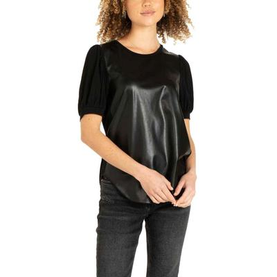 Another Love Women's Itzel Leather Top