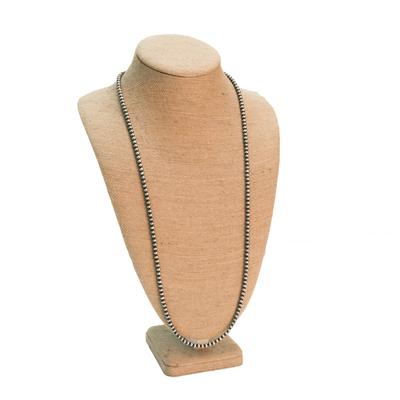 Women's Sterling Silver Peal 36 Inch Necklace