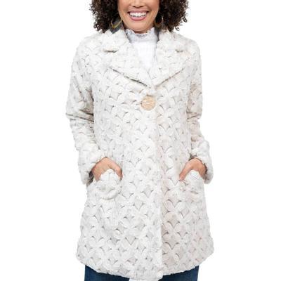 Ivy Jane Women's Trellis Fur Coat