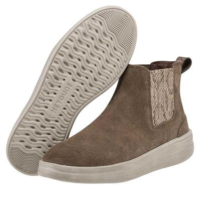 Hey Dude Women's Vic Suede Fossil