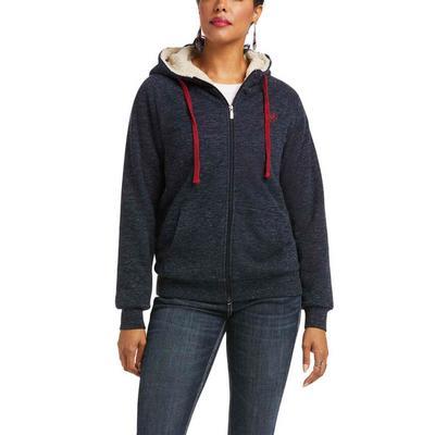 Ariat Women's R.E.A.L. Sherpa Full Zip Hoodie