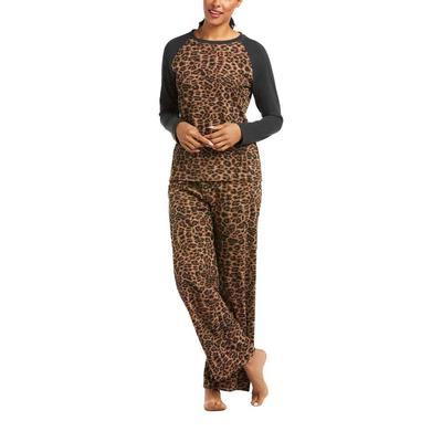 Ariat Women's Cheetah PJ Set
