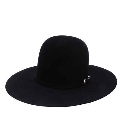 Resistol Men's Midnight 6X Black Felt Hat